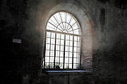 window in old building