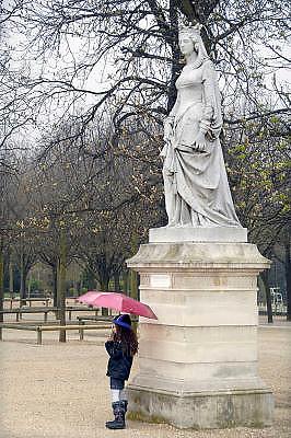 Frankrijk, Parijs, 28-3-2010In de Jardin du Luxembourg. Park waar stedelingen zich ontspannen. Exterieur.Foto: Flip Franssen/Hollandse Hoogte