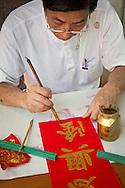 Calligrapher, China Town Bangkok