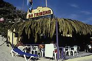Sa Trincha terrace, Las Salinas beach, Ibiza 1999.