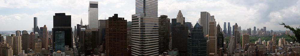 Panorama of Manhattan