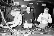 Skin DJs, UK, 1980s.