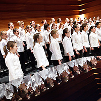 National Girls Choir. (NYCOS) National Youth Choir of Scotland.Note to Editors:  This image is free to be used editorially in the promotion of the NYCOS. Without prejudice ALL other licences without prior consent will be deemed a breach of copyright under the 1988. Copyright Design and Patents Act  and will be subject to payment or legal action, where appropriate. For further information please contact Vicky Tibbitt Marketing and Communications Manager 0141-287-2801.<br />
