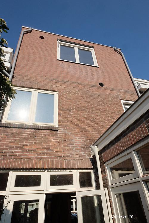 Nederland, Utrecht, 18-09-2014 Renovatie,verbouwing Foto: Gerard Til