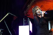 Nederland, Nijmegen, 18-7-2006Liesbeth List doet een optreden in de Stevenskerk tijdens de zomerfeesten.Foto: Flip Franssen/Hollandse Hoogte