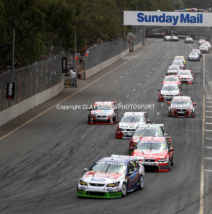 Adelaide Clipsal 500 ~ 2008 V8 Supercar Series Round 1 on the Adelaide Street Circuit, South Australia on Sunday 24th February 2008. Photo© Clay Cross/PHOTOSPORT