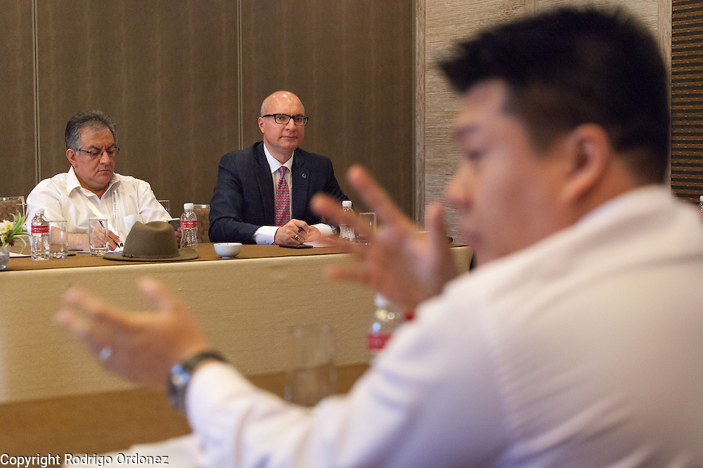 The Executive Director of The Union, Jos&eacute; Luis Castro (background, center), participates in an interactive discussion to identify specific actions to fight the co-epidemic at the global summit on diabetes and tuberculosis in Bali, Indonesia, on November 3, 2015.<br /> The increasing interaction of TB and diabetes is projected to become a major public health issue.&nbsp;The summit gathered a hundred public health officials, leading researchers, civil society representatives and business and technology leaders, who committed to take action to stop this double threat. (Photo: Rodrigo Ordonez for The Union)