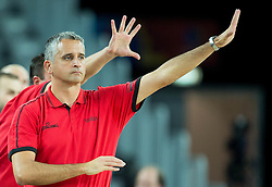 Igor Kokoskov, head coach of Georgia during basketball match between Georgia and Netherlands at Day 1 in Group C of FIBA Europe Eurobasket 2015, on September 5, 2015, in Arena Zagreb, Croatia. Photo by Vid Ponikvar / Sportida