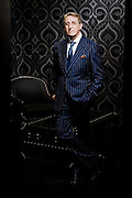 Leonard Logsdail, bespoke suit maker and master tailor.