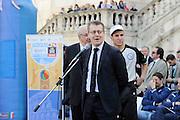 DESCRIZIONE : Roma Trofeo delle Regioni Cesare Rubini Kinder+Sport 2014 - Cerimonia di Apertura<br /> GIOCATORE : Alessandro Martolini<br /> SQUADRA : FIP Federazione Italiana Pallacanestro <br /> EVENTO : Trofeo delle Regioni Cesare Rubini Kinder+Sport 2014 - Cerimonia di Apertura<br /> GARA : Trofeo delle Regioni Cesare Rubini Kinder+Sport 2014 - Cerimonia di Apertura<br /> DATA : 01/04/2014<br /> CATEGORIA : Conferenza<br /> SPORT : Pallacanestro <br /> AUTORE : Agenzia Ciamillo-Castoria/GiulioCiamillo