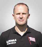 FOOTBALL POLISH EKSTRAKLASA SEASON 2014/2015<br /> Cracovia Krakow<br /> N/Z Michal Pulkowski asystent trenera