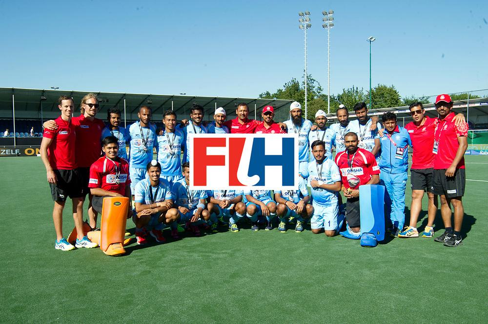 BREDA - Rabobank Hockey Champions Trophy<br /> Final Australia - India<br /> Australia won after shoot outs.<br /> Photo: India team<br /> COPYRIGHT WORLDSPORTPICS FRANK UIJLENBROEK