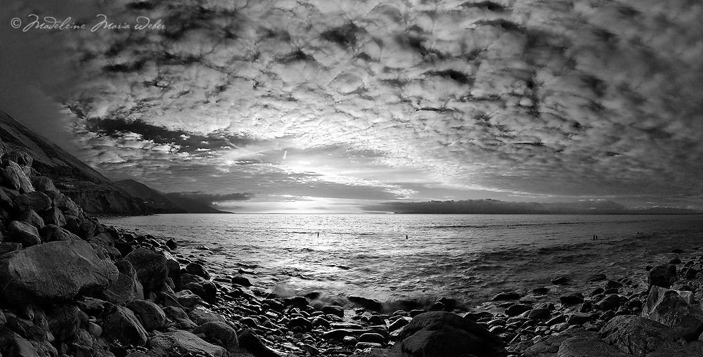 Stormy Sunset at Rossbeigh Beach, Glenbeigh Co. Kerry, Ireland / kr049
