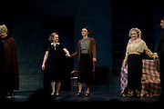 Elisabeth Moss: Keira Knightley: Carol Kane ; the press night of 'The Children's Hour' at Comedy Theatre.  London. 9 February 2011. -DO NOT ARCHIVE-© Copyright Photograph by Dafydd Jones. 248 Clapham Rd. London SW9 0PZ. Tel 0207 820 0771. www.dafjones.com.