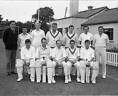 1970 - Cricket: Clontarf v Old Belvedere, Leinster Senior Cup Final at Clontarf Cricket Grounds