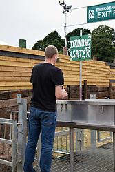 Latitude Festival 2017, Henham Park, Suffolk, UK. Drinking water