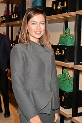 KATRINA FORNICHEVE at a lunch hosted by Alice Naylor-Leyland and Tamara Beckwith in celebration of the Coach 2015 collection held at Coach, New Bond Street, London on 18th September 2014.