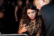 MARINA DIAMONDIS, InStyle's Best Of British Talent Party in association with Lancome. Shoreditch HouseLondon. 25 January 2011, -DO NOT ARCHIVE-© Copyright Photograph by Dafydd Jones. 248 Clapham Rd. London SW9 0PZ. Tel 0207 820 0771. www.dafjones.com.