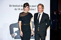 Julie Gayet &amp; Christopher Thompson attend the lumiere prize ceremony during 9th Film Festival in Lyon, October 20, 2017<br /> 9th Lyon Film Festival - Lumiere Award 2017