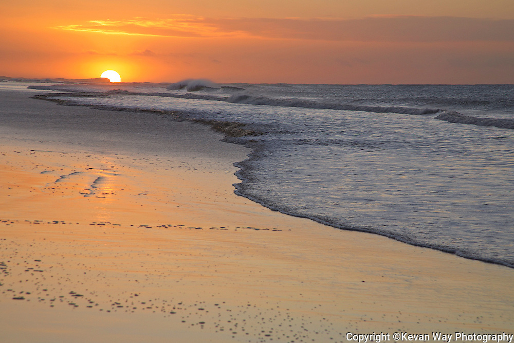 Whites Beach sunrise
