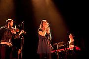 Paris, France. June 18th 2012.Margaux Avril performs for the first time in public, at Le Cafe de la Danse..