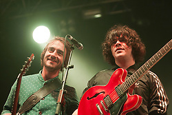 The View play the Golden Voice tent..Sunday at Rockness 2012..©Michael Schofield..