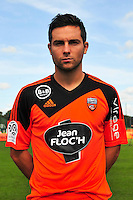 Mathieu Coutadeur - 25.09.2014 - Photo officielle Lorient - Ligue 1 2014/2015<br /> Photo : Philippe Le Brech / Icon Sport
