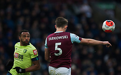 Callum Wilson of Bournemouth (L) and James Tarkowski of Burnley in action - Mandatory by-line: Jack Phillips/JMP - 22/02/2020 - FOOTBALL - Turf Moor - Burnley, England - Burnley v Bournemouth - English Premier League