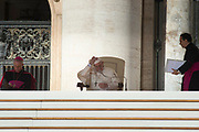 VATICAN CITY, ITALY 20 SEPT 2017: Images from the General Audience with Pope Francis in St. Peters Square on Sept. 20, 2017