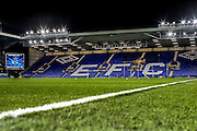 Goodson Park stadium during the Barclays Premier League match between Everton and Crystal Palace at Goodison Park, Liverpool, England on 7 December 2015. Photo by Simon Davies.