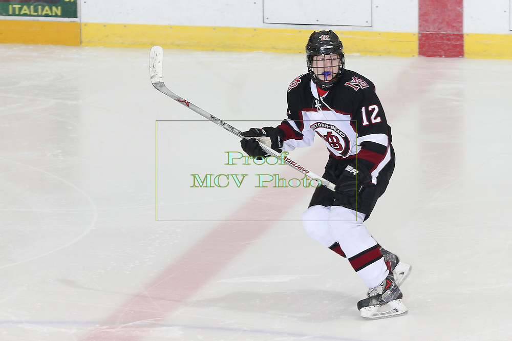 December 23, 2015: High School Ice Hockey; Delbarton at Morristown-Beard at William G Mennen Sports Arena
