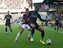 Joel Matip of Liverpool and Dwight McNeil of Burnley (L) in action - Mandatory by-line: Jack Phillips/JMP - 31/08/2019 - FOOTBALL - Turf Moor - Burnley, England - Burnley v Liverpool - English Premier League