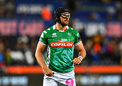 Ian McKinley of Benetton Treviso<br /> <br /> Photographer Craig Thomas/Replay Images<br /> <br /> Guinness PRO14 Round 4 - Ospreys v Benetton Treviso - Saturday 22nd September 2018 - Liberty Stadium - Swansea<br /> <br /> World Copyright © Replay Images . All rights reserved. info@replayimages.co.uk - http://replayimages.co.uk