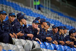 ASTANA, KAZAKHSTAN - Sunday, September 17, 2017: Kazakhstan's army during the FIFA Women's World Cup 2019 Qualifying Round Group 1 match between Kazakhstan and Wales at the Astana Arena. (Pic by David Rawcliffe/Propaganda)