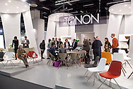 Europa, Deutschland, Koeln, Internationale Moebelmesse IMM Cologne in den Messehallen, Koelnmesse, Stand der Firma Tonon. - ..Europe, Germany, Cologne, IMM Cologne, the international furniture fair IMM Cologne at the exhibition center Koelnmesse, stand of the company Tonon..