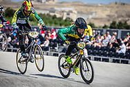 10 Boys #129 (ONEKAWA Tama) AUS at the 2018 UCI BMX World Championships in Baku, Azerbaijan.