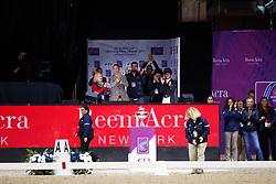 Graves, Laura (USA),<br /> Dower, Robert (USA);<br /> Perry-Glass, Kasey (USA);<br /> Peters, Steffen (USA) Verdades<br /> Omaha - Weltcup Finale Dressur und Springen 2017<br /> Stefan Lafrentz