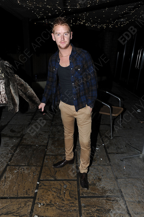 09.DECEMBER.2012. LONDON<br /> <br /> MIKEY NORTH AT THE X-FACTOR FINAL AFTERPARTY AT BIJOUS NIGHT CLUB IN MANCHESTER.<br /> <br /> BYLINE: EDBIMAGEARCHIVE.CO.UK<br /> <br /> *THIS IMAGE IS STRICTLY FOR UK NEWSPAPERS AND MAGAZINES ONLY*<br /> *FOR WORLD WIDE SALES AND WEB USE PLEASE CONTACT EDBIMAGEARCHIVE - 0208 954 5968*