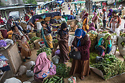 A market in Boyolali, Central Java where farmers directly sell their harvest, 2018. The busiest hour is 12-4 pm everyday when farmers finish harvesting in the morning.