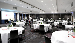 The Lansdown Suite is prepared for the City Foundation Trust Quiz - Mandatory by-line: Robbie Stephenson/JMP - 19/09/2016 - FOOTBALL - Ashton Gate - Bristol, England - Bristol City Community Trust Quiz