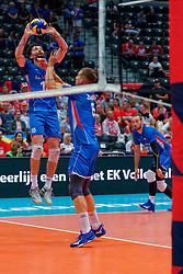 13-09-2019 NED: EC Volleyball 2019 Czech Republic - Ukraine, Rotterdam<br /> First round group D / Cze's Pavel Bartos #10