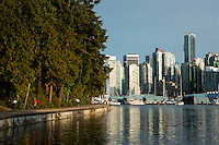 Stanley Park Seawall, Vancouver, Canada