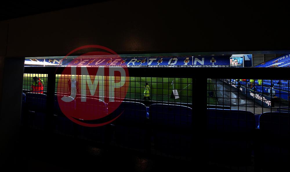 A general view of Goodison Park, home of Everton - Mandatory by-line: Robbie Stephenson/JMP - 05/11/2017 - FOOTBALL - Goodison Park - Liverpool, England - Everton v Watford - Premier League