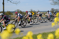 Approaching the penultimate lap on Stage 2 of Festival Elsy Jacobs 2017. A 111.1 km road race on April 30th 2017, starting and finishing in Garnich, Luxembourg. (Photo by Sean Robinson/Velofocus)