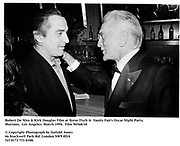 Robert De Niro & Kirk Douglas Film at Steve Tisch &  Vanity Fair's Oscar Night Party,<br />