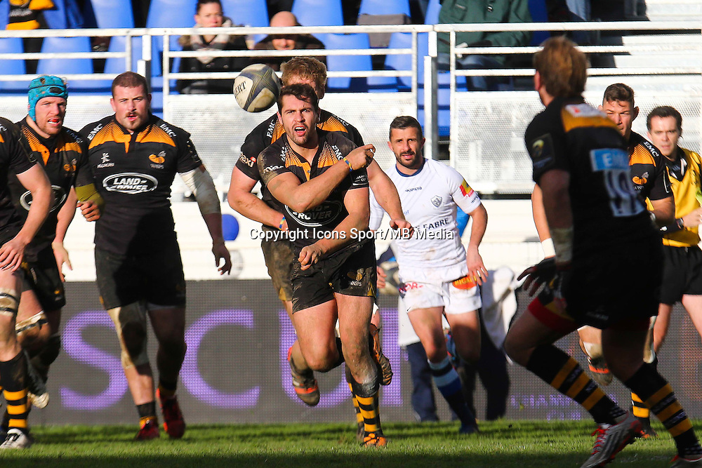Charlie Davies - 07.12.2014 - Castres / London Wasps - European Champions Cup<br />