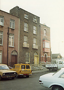 Old Dublin Amature Photos May 1983 WITH, Kavanagh's Pub, Dorset St, Shop Front, Aston Quay, Halfpenny Bridge, Merchants Arch, MK2 Ford Escort Van, Vauxhall Viva, car,