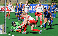 Goal by Anita PUNT during the BDO Womenís Championship Challenge match between New Zealand and Italy held at the Hartleyvale stadium in Cape Town, South Africa on the 14 October 2009
