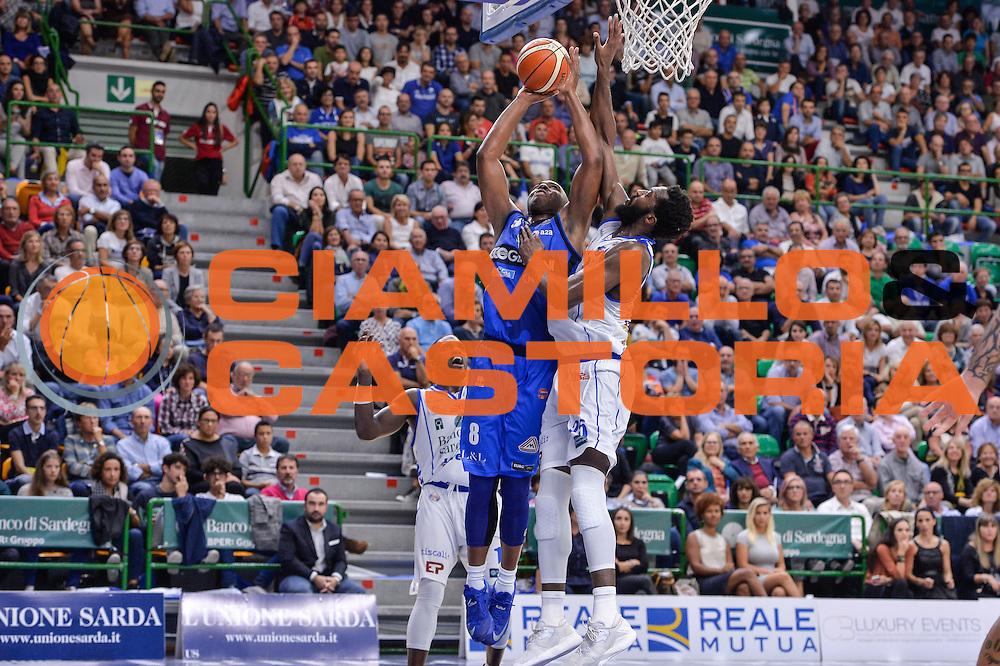 Marcus Landry<br /> Dinamo Banco di Sardegna Sassari - Germani Basket Brescia Leonessa<br /> Lega Basket Seire A 2016/2017<br /> Sassari 15/10/2016<br /> Foto Ciamillo-Castoria