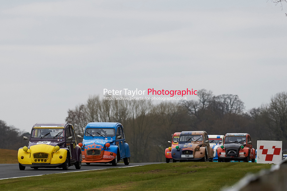 #36 Caryl WILLS Citroen 2CV 602 during 2CVParts.com Classic Championship as part of the BARC NW - Championship Raceday  at Oulton Park, Little Budworth, Cheshire, United Kingdom. March 19 2016. World Copyright Peter Taylor/PSP. Copy of publication required for printed pictures.  Every used picture is fee-liable.
